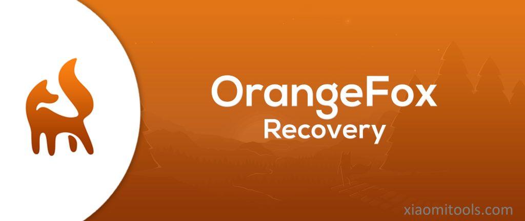 Orangefox Recovery En Xiaomi Tools